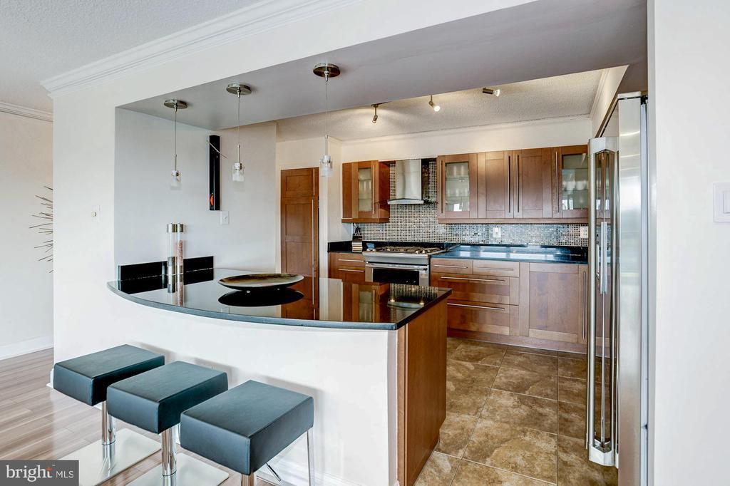 Fully renovated kitchen! - 1300 ARMY NAVY DR #922, ARLINGTON