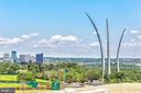 Rooftop views of Arlington - 1300 ARMY NAVY DR #922, ARLINGTON