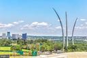 Rooftop views of Arlington - 1300 ARMY NAVY DR #922, ARLINGTON