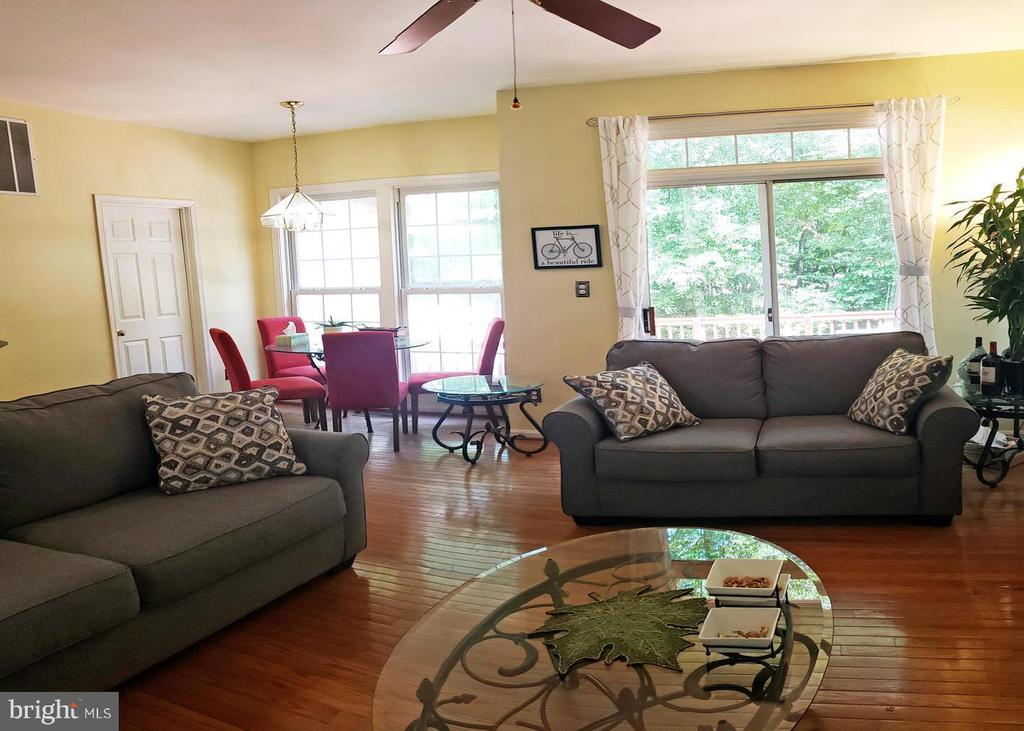 Family room  w extra  sunlight! - 46871 REDFOX CT, STERLING