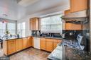 Kitchen-ceramic tile floor - 5075 HIGGINS DR, DUMFRIES