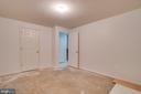 Basement Bedroom #2-Unfinished floor - 5075 HIGGINS DR, DUMFRIES