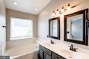 Master Bath with Soaking Tub - 2558 JAMES MADISON CIR, HERNDON
