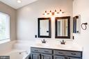 Master Bath with Double Sinks - 2558 JAMES MADISON CIR, HERNDON