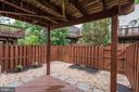 Covered Back Patio - 2558 JAMES MADISON CIR, HERNDON