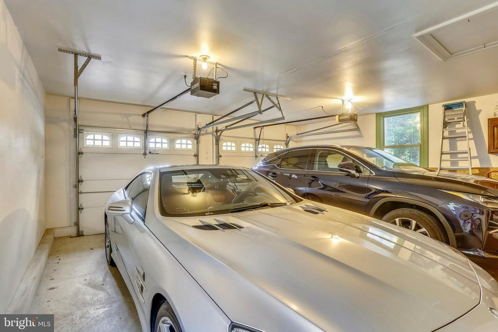 2 car garage with shelving - 1012 MERCER, FREDERICK