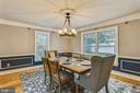 large formal dining room - 1012 MERCER, FREDERICK