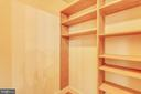 one of two owner suite walk-in closets - 1012 MERCER, FREDERICK