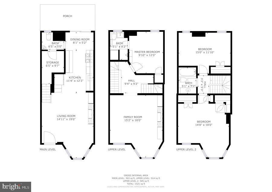 Floor Plan - 217 9TH ST NE, WASHINGTON