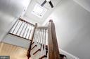 Stairs/Skylight - 217 9TH ST NE, WASHINGTON
