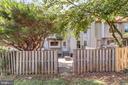 Fenced backyard - 46796 FAIRGROVE SQ, STERLING
