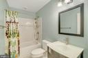 Renovated upper level bathroom - 46796 FAIRGROVE SQ, STERLING