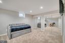 Recreation room in basement - 46796 FAIRGROVE SQ, STERLING