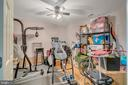 Den/exercise room in basement - 46796 FAIRGROVE SQ, STERLING