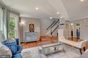 Neutral paint, hardwood floors-Living Room - 46796 FAIRGROVE SQ, STERLING