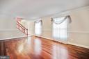 Formal Living Room - 9616 STAYSAIL CT, BURKE