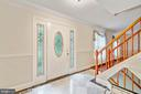 Foyer/Front Entrance - 9616 STAYSAIL CT, BURKE