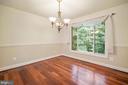 Formal Dining Room - 9616 STAYSAIL CT, BURKE