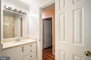 Hall Full Bath - 9616 STAYSAIL CT, BURKE