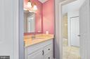 Master Bedroom-vanity - 9616 STAYSAIL CT, BURKE