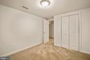 5th Bedroom-Basement - 9616 STAYSAIL CT, BURKE