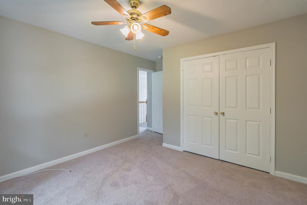 THIRD BEDROOM. NOTE DOUBLE CLOSET. - 1 WREN WAY CT, STAFFORD