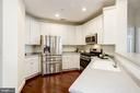 Kitchen - Newer Stainless Steel Appliances! - 828 SLATERS LN #105, ALEXANDRIA