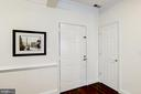Front Door to Home + Coat Closet! - 828 SLATERS LN #105, ALEXANDRIA