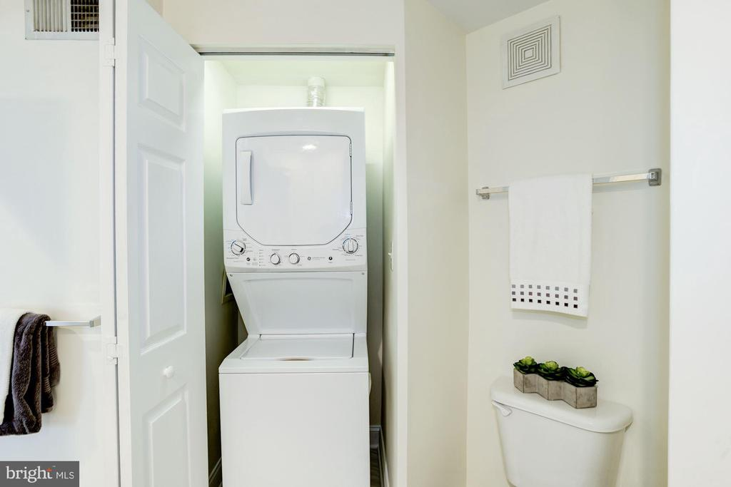 Laundry Room - Washer & Dryer Inside the Condo! - 828 SLATERS LN #105, ALEXANDRIA
