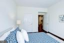 Bedroom #2 - Spacious & Gets Great Sunlight! - 828 SLATERS LN #105, ALEXANDRIA