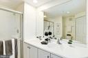Master Bathroom - Dual Vanity/Sinks - NO SHARING! - 828 SLATERS LN #105, ALEXANDRIA