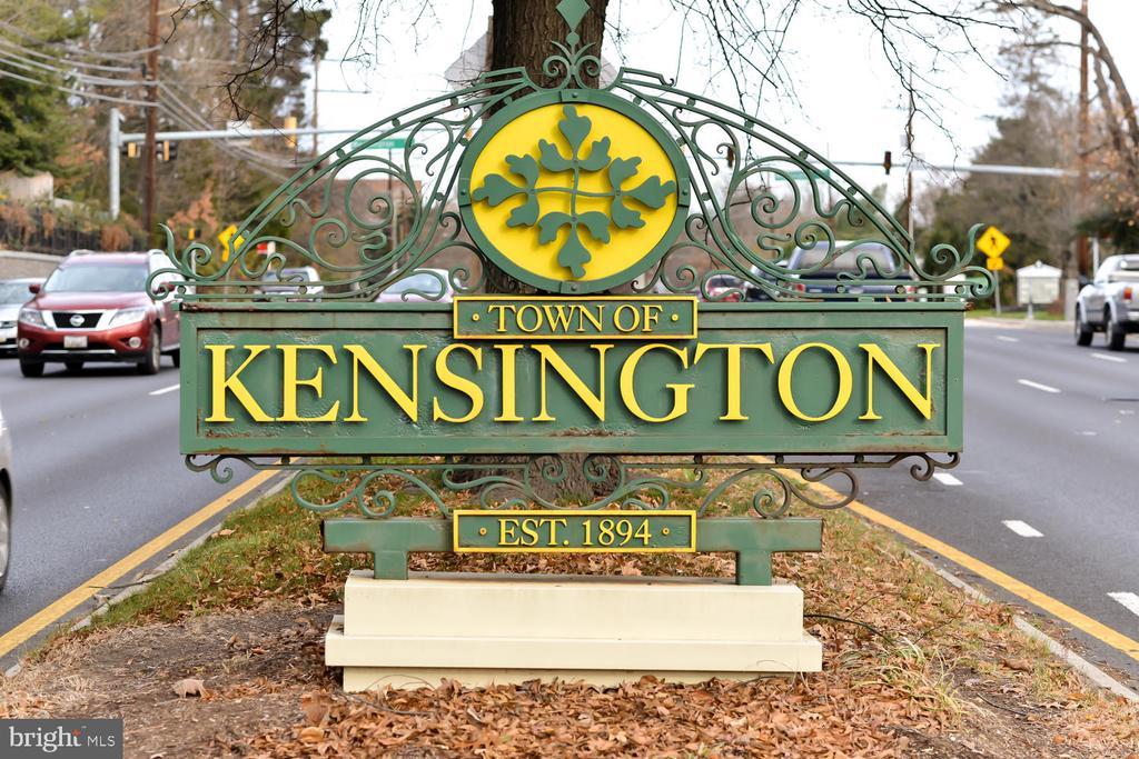 In the heart of charming Kensington - 4513 EDGEFIELD RD, KENSINGTON