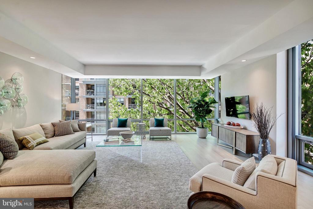 Stunning Tree View Out Your Living Room Window - 1111 24TH ST NW #51, WASHINGTON