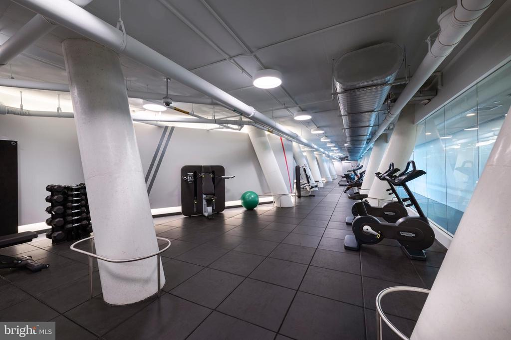 State-of-the-art fitness center - 1111 24TH ST NW #51, WASHINGTON