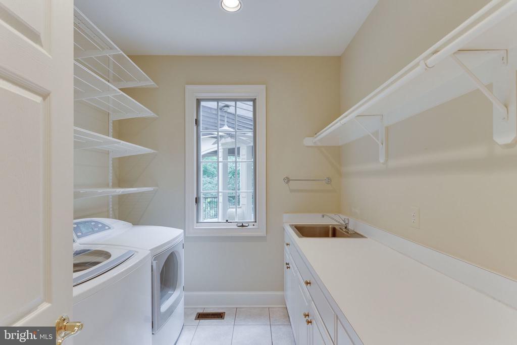 Laundry room - 3111 WINDSONG DR, OAKTON