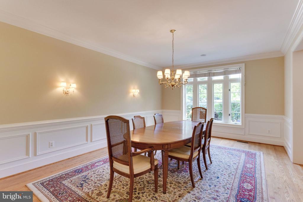Formal dining room - 3111 WINDSONG DR, OAKTON