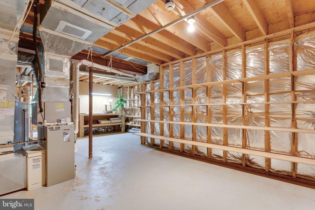 Lower level storage - 3111 WINDSONG DR, OAKTON