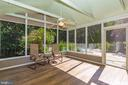 Screened Porch - 14508 TRIPLE CROWN PL, NORTH POTOMAC