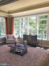 Conservatory Surrounded By Trees - 16028 WATERFORD MEADOW PL, HAMILTON