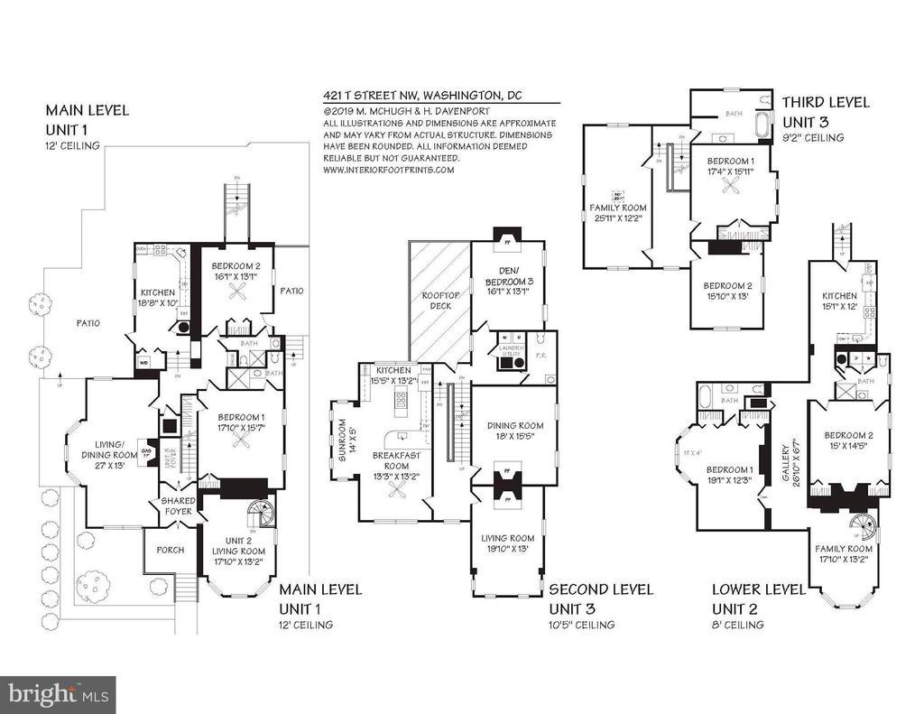 Floor Plans - 421 T ST NW, WASHINGTON