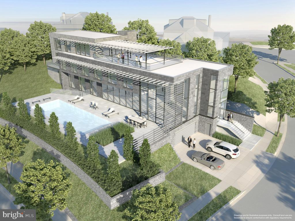 One Potential Architectural Rendering - 2802 32ND NW, WASHINGTON