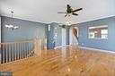 Entry living room - 126 FIELDSTONE CT, FREDERICK