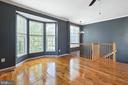 Floor to ceiling bay window - 126 FIELDSTONE CT, FREDERICK