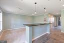 Bar Partition - 126 FIELDSTONE CT, FREDERICK
