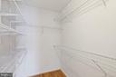Master Bedroom Walk in closet - 126 FIELDSTONE CT, FREDERICK