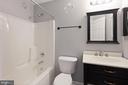 2nd Level full bath - 126 FIELDSTONE CT, FREDERICK