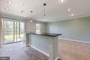 Lower level living area - 126 FIELDSTONE CT, FREDERICK