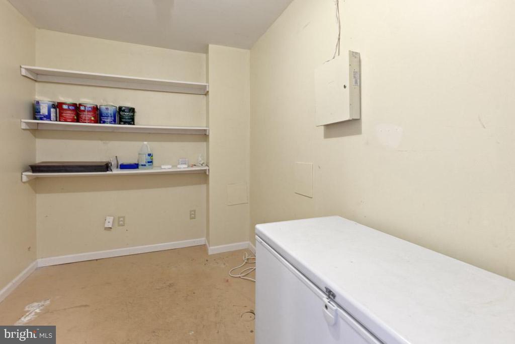 Storage room lower level - 126 FIELDSTONE CT, FREDERICK