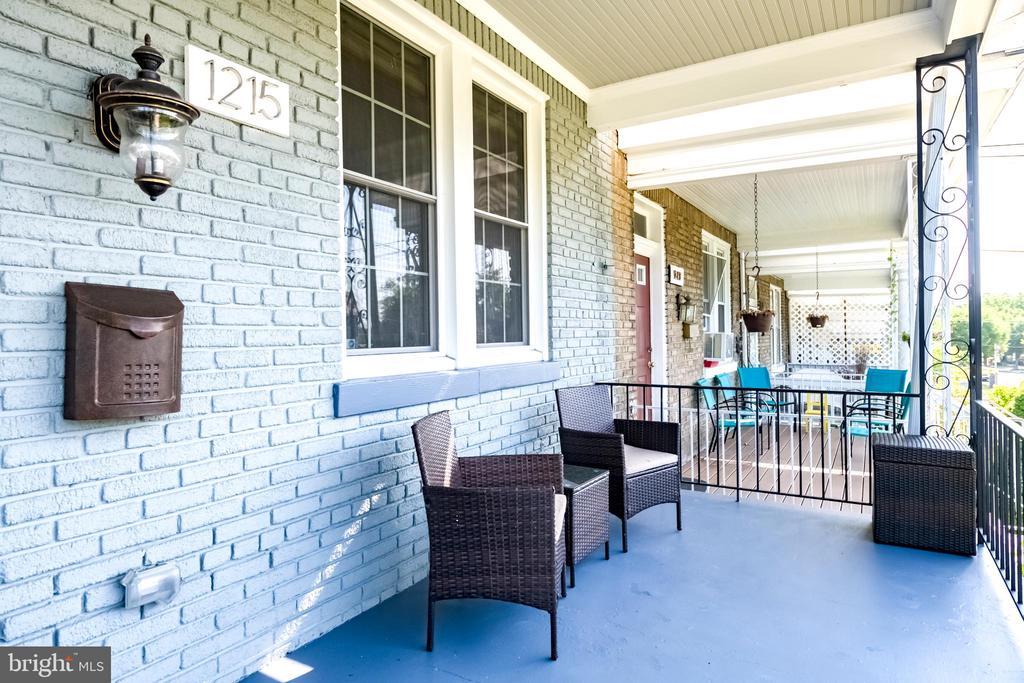 Classic DC Front Porch - 1215 INGRAHAM ST NW, WASHINGTON