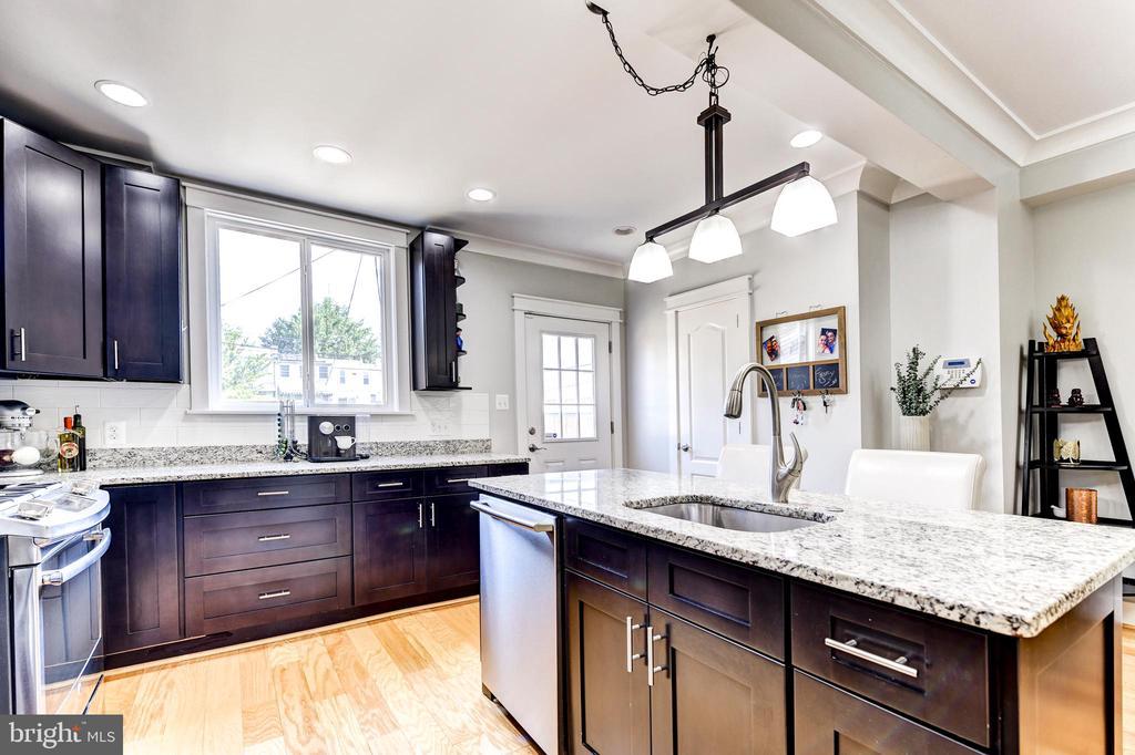 Kitchen w/ Pantry - 1215 INGRAHAM ST NW, WASHINGTON